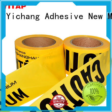 waterproof safety barricade tape supply for caution