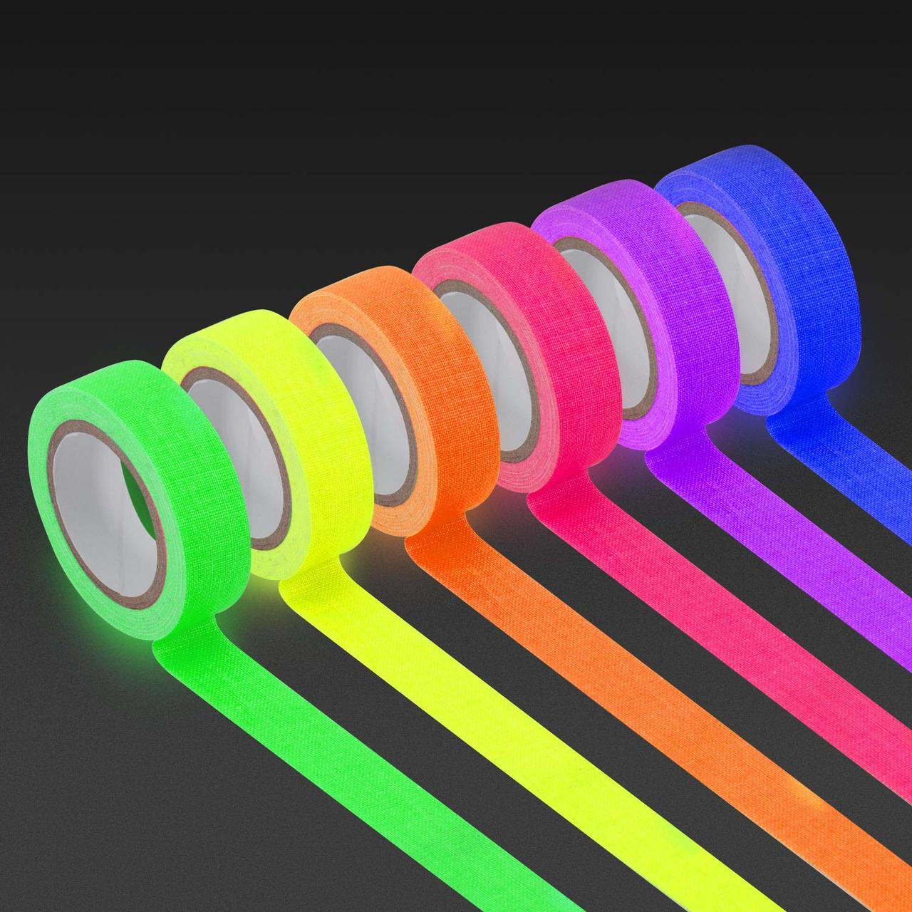 Writable Neon Fluorescent Tape